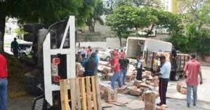 Saqueo de camión con cajas Clap dejó saldo de un fallecido y varios heridos en Cúpira