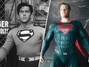 Los personajes de los comics en sus primeras y últimas versiones (fotos)