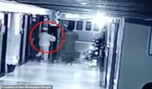 Disfrazada de enfermera raptó a un bebé delante de los padres (video)