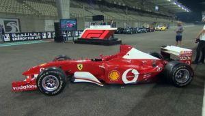 El dinero de la venta del Ferrari F2002 de Michael Schumacher cubrirá los gastos de su recuperación