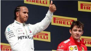¿Fichará Hamilton por Ferrari? Esto fue lo que dijo Charles Leclerc