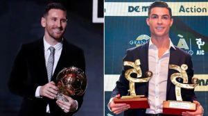 El inesperado desafío de Cristiano Ronaldo a Messi tras perder el Balón de Oro