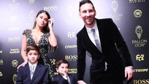 La adorable reacción de Mateo Messi tras escuchar que su padre se llevó su sexto Balón de Oro (VIDEO)