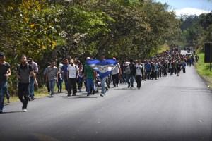 ONU pide proteger migrantes que viajan en caravanas hacia EEUU