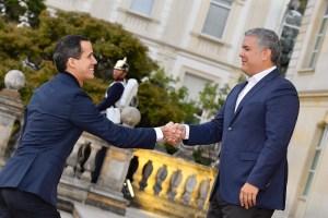 Duque tras reunión con Guaidó: Resaltamos la importancia de restablecer la democracia en Venezuela