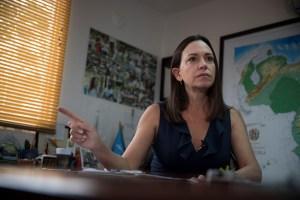 María Corina Machado estimó que se requiere de acciones quirúrgicas para salir de Maduro