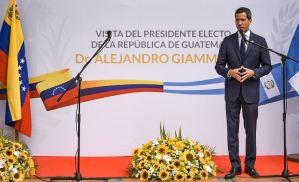 Giammattei ratificó apoyo a Guaidó con la mira de convertir la región en potencia