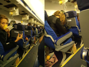 Un pasajero reveló video que muestra fuerte falla durante vuelo comercial de línea aérea venezolana