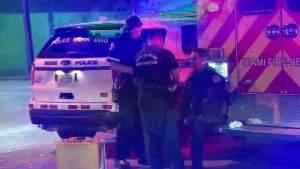 Oficial de policía de Miami herido durante una persecución