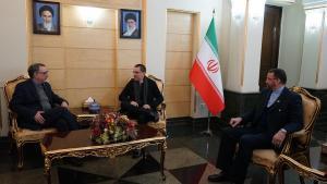 En medio de tensiones, Arreaza visita Irán (video)
