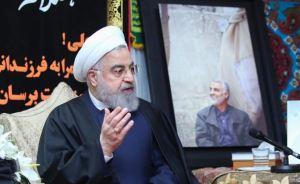 """Rohani asegura que quiere """"evitar una guerra"""" contra EEUU"""