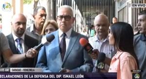 """Dictan medida de """"casa por cárcel"""" al diputado Ismael León, según el abogado"""