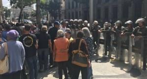 GNB acorrala a pensionados para que no protesten en el centro de Caracas #23Ene (Fotos)