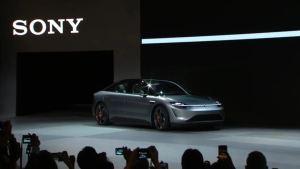 Este es el primer vehículo eléctrico de Sony… sí, Sony