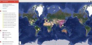 Un mapa interactivo de Google muestra en tiempo real los casos de coronavirus en el mundo