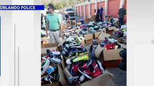 La policía de Orlando confisca $ 367,000 en mercancías robadas de las unidades de almacenamiento