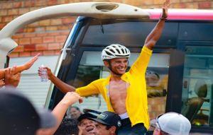 Venezolano Roniel Campos se coronó campeón de la Vuelta al Táchira 2020