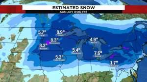 Winter's Revenge: tormenta de nieve masiva en el medio oeste para brindar el aire más frío de la temporada al centro de Florida