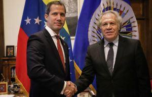Almagro a Guaidó: Cuenta con todo el respaldo de la OEA para seguir trabajando por Venezuela