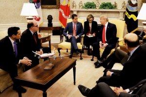 Guaidó sostuvo histórico encuentro con Trump en la Oficina Oval de La Casa Blanca (FOTOS)