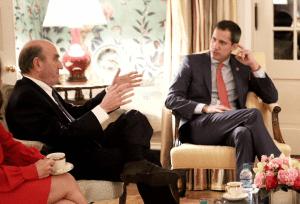 Guaidó se reunió con Elliott Abrams, representante especial de EEUU para Venezuela (FOTO)