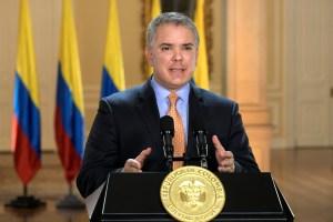 Duque ve con buenos ojos la transición que propuso EEUU para Venezuela