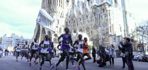 Aplazado el maratón de Barcelona debido al coronavirus