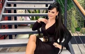 ¡SEEÑORAA! Maribel Guardia se dispuso a sacar su material más sexy