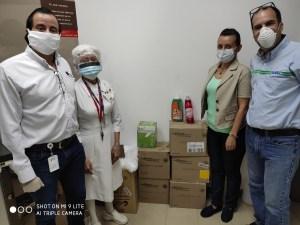 Farmacia SAAS y SC Johnson se unen para dar un aporte solidario a la Cruz Roja Venezolana
