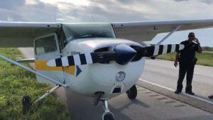 Avión aterriza de emergencia en Broward