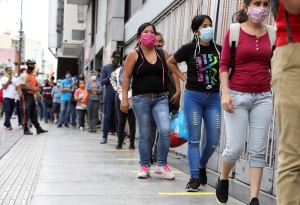 Régimen chavista reportó 867 nuevos casos de coronavirus en las últimas 24 horas