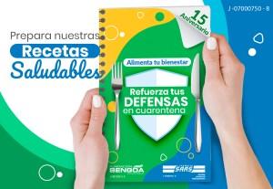 """Farmacia SAAS promueve su Décima Sexta guía nutricional:""""Alimenta tu bienestar… Refuerza tus defensas en cuarentena"""""""