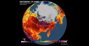 Alerta roja climática: Siberia alcanza un máximo histórico de 38°C