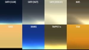 La Nasa mostró cómo se verían los atardeceres en otros planetas (Video)