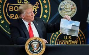 Trump promociona más de 200 millas de nuevo muro fronterizo en visita a Arizona