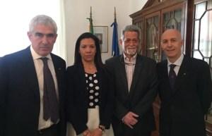 Representantes de Juan Guaidó en Italia se reunieron con miembros del partido de Silvio Berlusconi