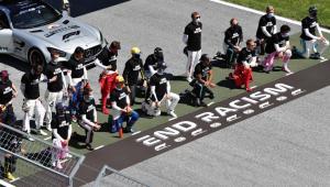 El motivo por el que dos pilotos no se arrodillaron contra el racismo en Austria