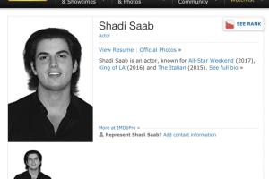 Hijo de Álex Saab y ex diplomático chavista se infiltraron en Hollywood (CAPTURAS)