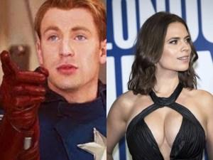"""¿Entendiste esa referencia? Filtran imágenes explícitas """"high definition"""" de la novia del Capitán América"""