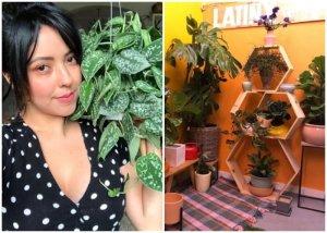 Se arriesgó y triunfó: Latina emprendió un exitoso negocio de plantas en Los Ángeles