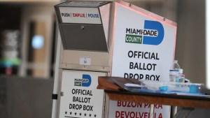 Floridanos iniciaron sus votos por correo para las elecciones presidenciales