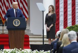 Trump confirma nominación de Amy Coney Barrett como jueza para el Supremo