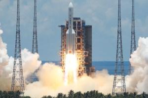Nave espacial china se posará sobre la superficie de Marte en mayo 2021