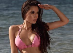 ¡UF, UF, UF! El bikini negro de Georgina Mazzeo (FOTO)