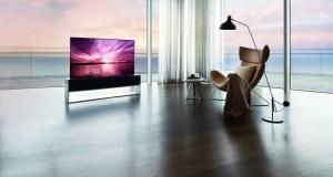 Más caro que un auto, LG pone a la venta el primer televisor enrollable del mundo (FOTOS)