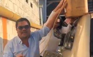 """La llanera que el """"Conde del Guacharo"""" armó varado en Anaco por gasolina (Video)"""
