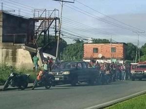 Protestaron por falta de gasolina en Cojedes este #1Dic (Imágenes)
