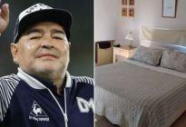 Así es la casa donde murió el exfutbolista Diego Maradona (Fotos)