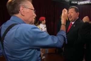 Así fue como Larry King reveló el secreto mejor guardado de Chávez (VIDEO)