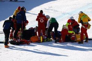 El ESCALOFRIANTE accidente de un esquiador a 140 kilómetros por hora en Austria (VIDEO)